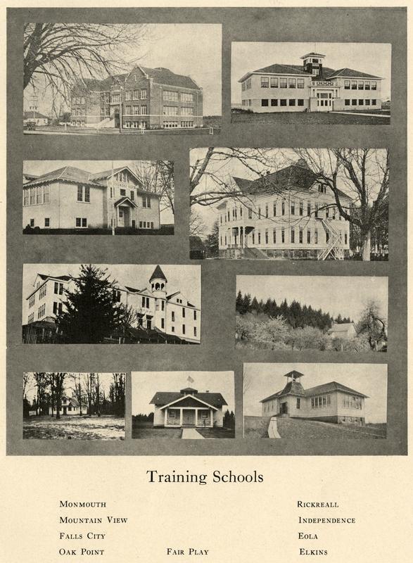 Composite of the Rural Training Schools
