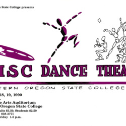 Dance Poster 1990