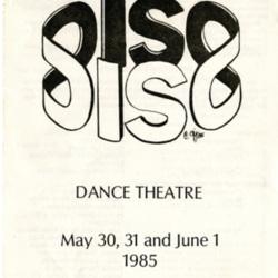 Dance Bulletin 1985