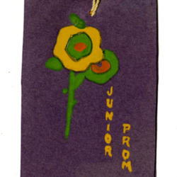 Dance Card, 1926, Junior Prom