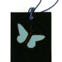 Dance Card, 1924, Butterfly