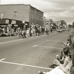 Fourth of July Parade as Viewed from Monmouth Avenue