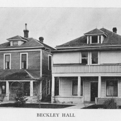Full View of Beckley Hall, 1923<br /><br />