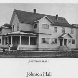 Full View of Johnson Hall, 1923<br /><br />