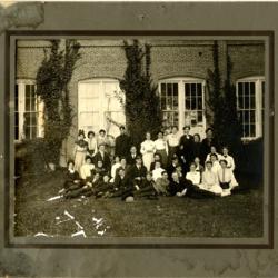 The Physics Club, circa 1909