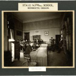 Normal School Library, 1904