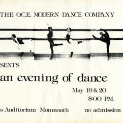 Dance Poster 1978