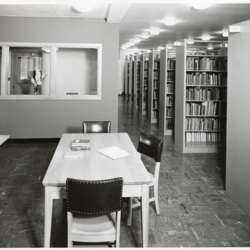 Lower Level of the Library