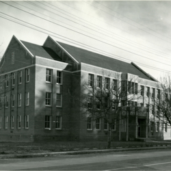 West Exterior of Administration Building <br /><br />