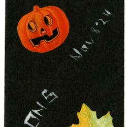 Dance Card, 1924