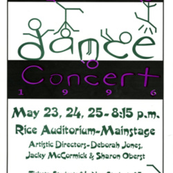 Dance Poster 1996
