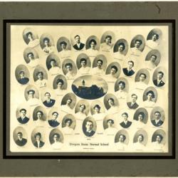 Graduation Composite Portraits, 1905