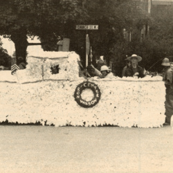 Ron Wilson Center Float in Fourth of July Parade