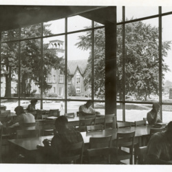Large Window View in the Library