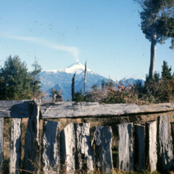 Caburgua rail fence