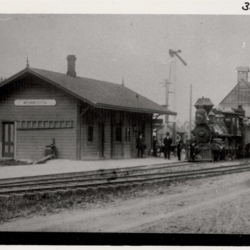 Southern Pacific Railroad, Monmouth Station