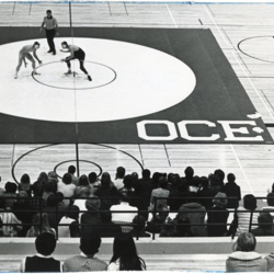 Raised View of OCE Wrestling Tournament