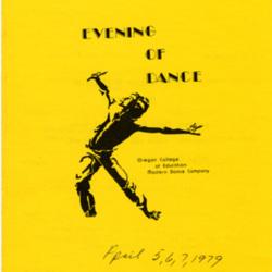 Dance Bulletin 1979