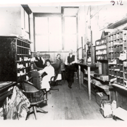 Early Monmouth Post Office, Interior