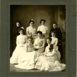 February Graduation Portrait, 1902