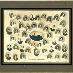 Graduation Composite Portraits, 1905