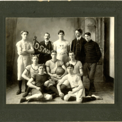 Oregon State Normal School 1902 Men's Basketball team