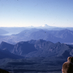 View north from the slopes of Volcán Villarrica.