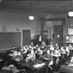 Eola Rural School Interior
