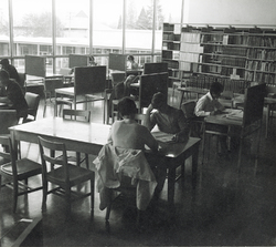 Students Reading in the College Library<br />